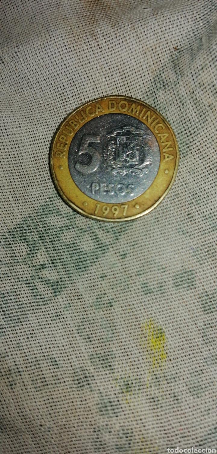 Monedas antiguas de América: MONEDA DE 5 PESOS REPÚBLICA DOMINICA - Foto 2 - 150123925