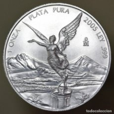 Monedas antiguas de América: 1 ONZA PLATA PURA MÉXICO 2005. Lote 150303854