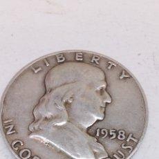 Monedas antiguas de América: MONEDA DE PLATA HALF DOLLAR 1958. Lote 151127214