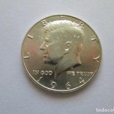 Monedas antiguas de América: ESTADOS UNIDOS * 1/2 DOLAR 1964 * PLATA. Lote 165680344