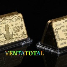 Monedas antiguas de América: ESTADOS UNIDOS LINGOTE ORO 24 KILATES 40 GRAMOS ( 10.000 $ MORGAN CHASE )Nº1. Lote 151461326