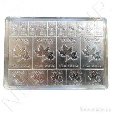Monedas antiguas de América: CANADA 2018 MAPLE MULTIBAR 1$ / 50 CENTS / 25 CENTS 2 ONZAS PLATA TIPO LINGOTES. Lote 151510766