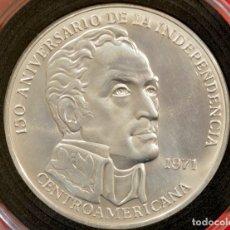 Monedas antiguas de América: 20 BALBOAS 1971 PANAMÁ CONMEMORATIVA INDEPENDENCIA DE CENTROAMÉRICA. Lote 77587485