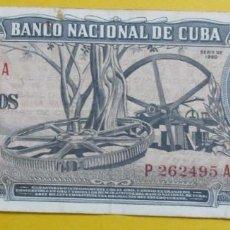 Monedas antiguas de América: CUBA. BILLETE DE 10 PESOS. 1960.FIRMA CHE. . Lote 151717230