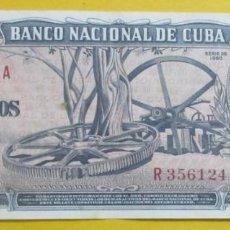 Monedas antiguas de América: CUBA. BILLETE DE 10 PESOS 1960. FIRMA CHE.. Lote 151717742