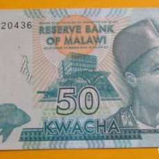Monedas antiguas de América: MALAWI. BILLETE DE 50 KWACHA. 2015. SIN CIRCULAR.. Lote 151718050