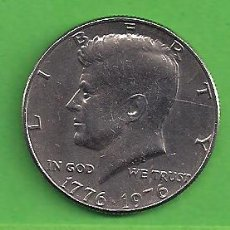 Monedas antiguas de América: MONEDA - ESTADOS UNIDOS - 50 CENTAVOS - 1976 - BICENTENARIO DE LOS ESTADOS UNIDOS - KENNEDY - C.. Lote 152016166