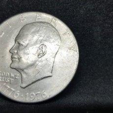 Monedas antiguas de América: ONE DOLLAR HEISENHOWER BICENTENARIO S/CECA 1776-1976. Lote 152471142