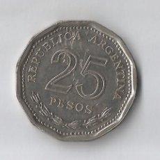 Monedas antiguas de América: ARGENTINA: 25 PESOS 1968 VF +. Lote 152474618