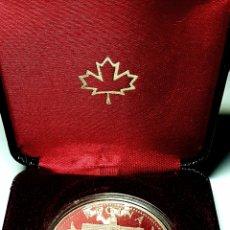 Monedas antiguas de América: ESCASA PLATA PROOF! 1982. CANADÁ. DOLLAR. Lote 152492081