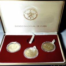 Monedas antiguas de América: RARO SET S/C! 1990. CUBA. EMISIÓN JUEGOS PANAMERICANOS. Lote 152492649