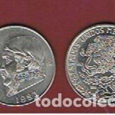Monedas antiguas de América: MEXICO :1 PESO 1983. EBC.XF. KM.460. Lote 152494874