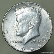 Monedas antiguas de América: 1/2 DOLAR ESTADOS UNIDOS 1966 - PLATA. Lote 152495566