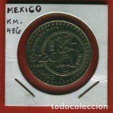 Monedas antiguas de América: MEXICO :1 PESO 1982. EBC-.XF-. KM.486. Lote 152495630