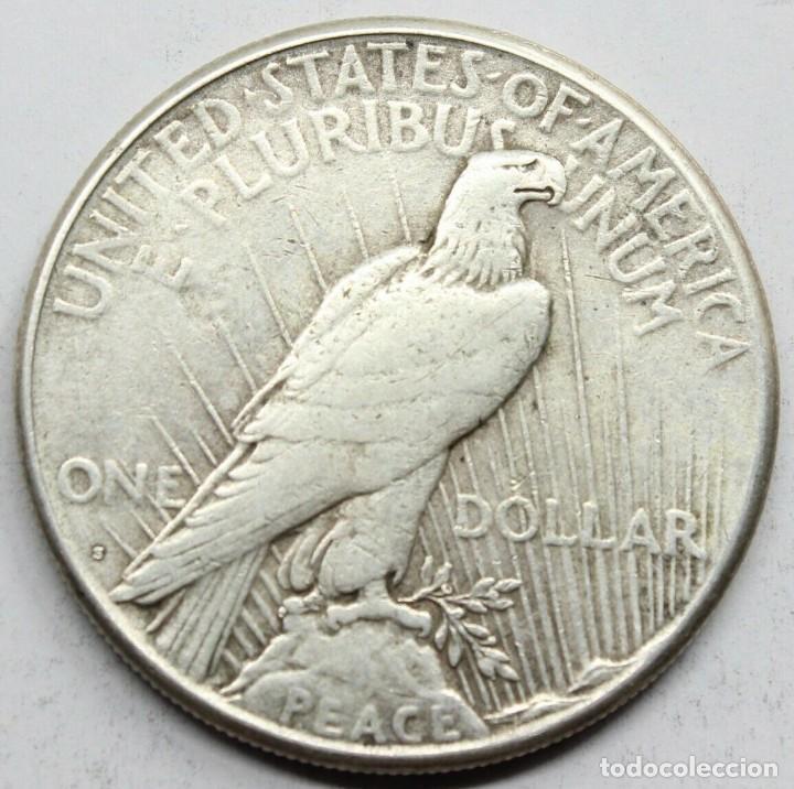 Monedas antiguas de América: MONEDA USA ESTADOS UNIDOS DOLAR PEACE / LIBERTY 1925 S.PLATA.MBC+ - Foto 2 - 152598442