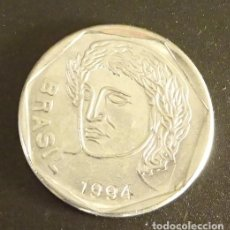 Monedas antiguas de América: BRASIL 25 CENTAVOS 1994. Lote 152770390