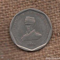 Monedas antiguas de América: DOMINICANA - 25 PESOS 2008 KM107. Lote 153229714
