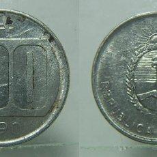 Monedas antiguas de América: MONEDA DE REPUBLICA ARGENTINA 100 AUSTRALES 1990. Lote 153749566