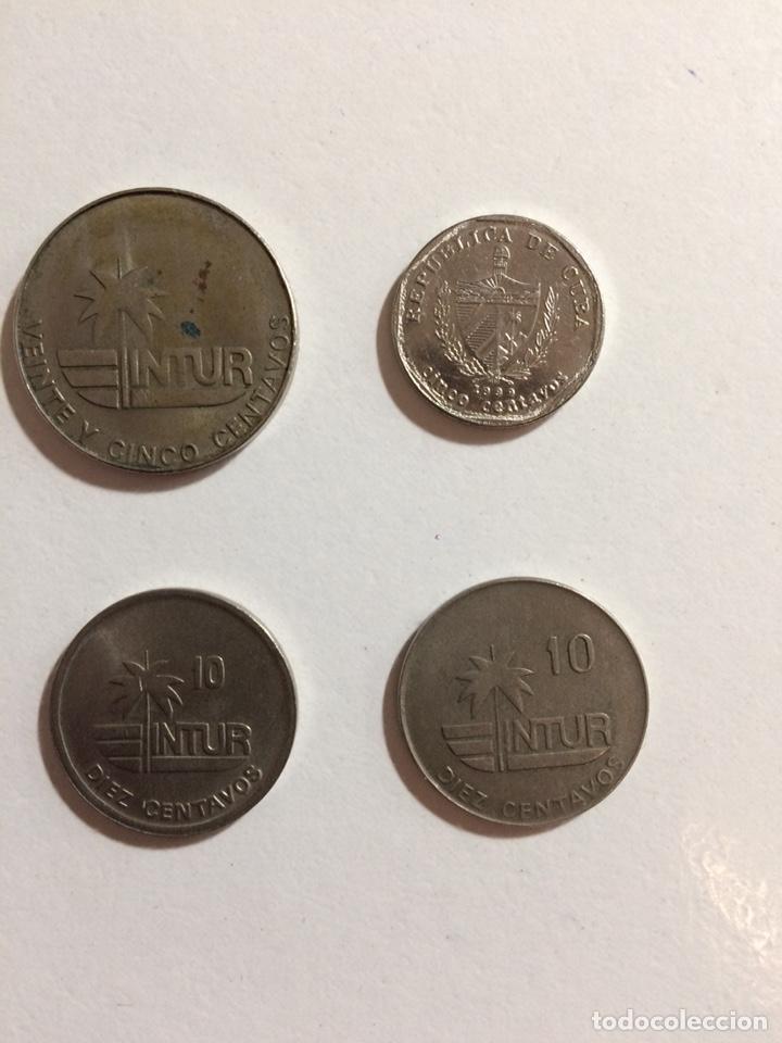 Monedas antiguas de América: Lote 4 monedas de Cuba - Foto 2 - 154025336