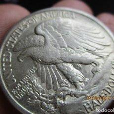 Monedas antiguas de América: MEDIO DOLAR DE PLATA 1942 SEGUNDA GUERA MUNDIAL EBC+. Lote 154105030