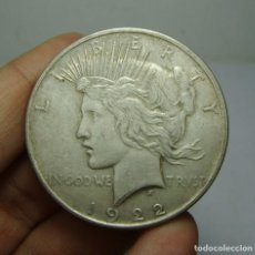 Monedas antiguas de América: 1 DOLLAR / 1 DOLAR. PLATA. U.S.A - 1922 (LIBERTY). Lote 154173786