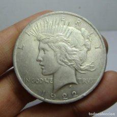 Monedas antiguas de América: 1 DOLLAR / 1 DOLAR. PLATA. U.S.A - 1922 (LIBERTY). Lote 154175250