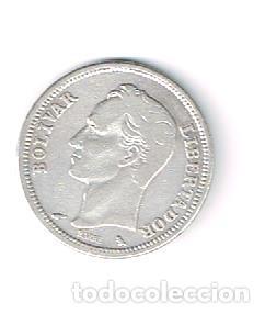 VENEZUELA, PLATA 5 G (Numismática - Extranjeras - América)