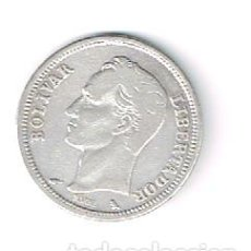 Monedas antiguas de América: VENEZUELA, PLATA 5 G. Lote 154765410
