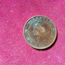 Monedas antiguas de América: ARGENTINA. CENTAVO DE 1890. Lote 154965734