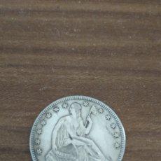 Monedas antiguas de América: MONEDA PLATA 1854 USA ORIGINAL. Lote 155025169