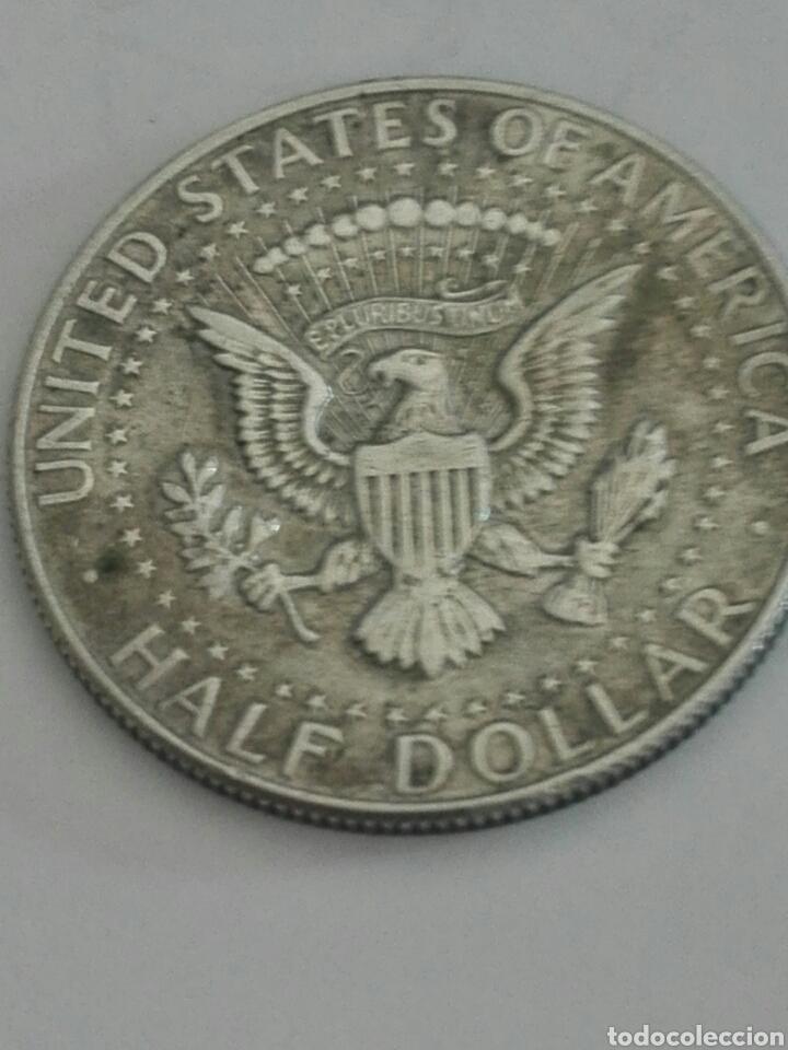 Monedas antiguas de América: MONEDA DE MEDIO (1/2) DÓLAR (KENNEDY) ESTADOS UNIDOS AÑO 1967. PLATA. BC - Foto 2 - 155272204