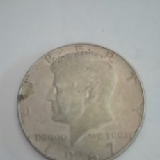Monedas antiguas de América: MONEDA DE MEDIO (1/2) DÓLAR (KENNEDY) ESTADOS UNIDOS AÑO 1967. PLATA. MBC.. Lote 155272598