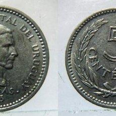 Monedas antiguas de América: MONEDA DE URUGUAY 5 CENTESIMOS ARTIGAS 1953. Lote 155326550