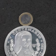 Monedas antiguas de América: MONEDA 50 PESOS DE CUBA (5 ONZAS DE PLATA PURA) Vº CENTENARIO JUANA LA LOCA PROOF. Lote 173796512