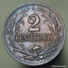 Monedas antiguas de América: 2 CENTESIMOS URUGUAY 1951. Lote 155872526