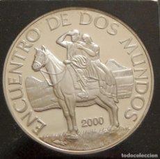 Monedas antiguas de América: URUGUAY. 2000. 250 PESOS. ENCUENTRO ENTRE DOS MUNDOS. PLATA. Lote 155919758