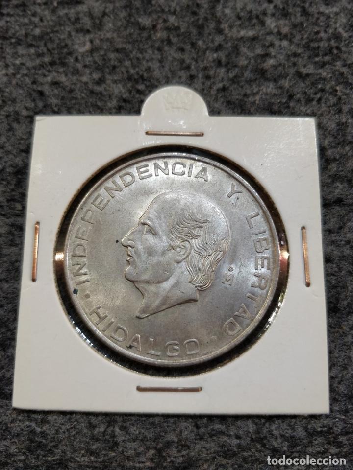 Monedas antiguas de América: Estados Unidos Mexicanos- Cinco Pesos, LEY 720, 1957 - 5 Pesos México Plata - Foto 3 - 156037154