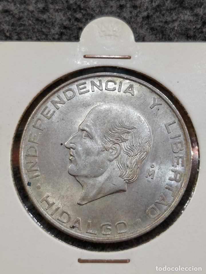Monedas antiguas de América: Estados Unidos Mexicanos- Cinco Pesos, LEY 720, 1957 - 5 Pesos México Plata - Foto 4 - 156037154