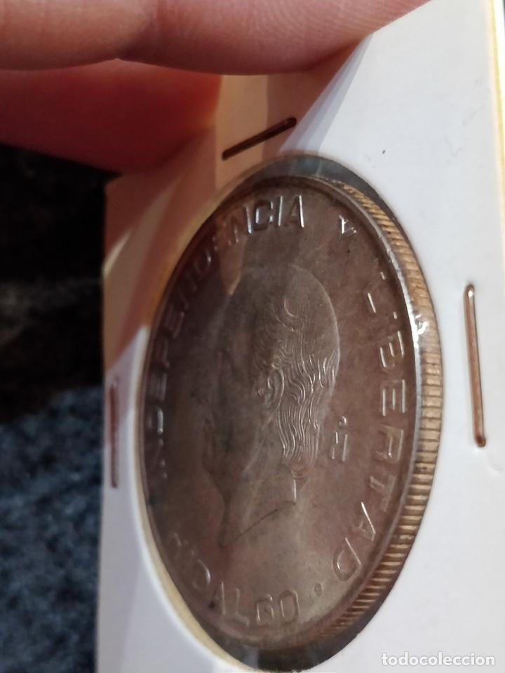 Monedas antiguas de América: Estados Unidos Mexicanos- Cinco Pesos, LEY 720, 1957 - 5 Pesos México Plata - Foto 5 - 156037154