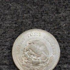 Monnaies anciennes d'Amérique: CINCO PESOS MEXICANOS 1947, PLATA DE LEY 900, 5 PESOS MÉXICO. Lote 164548461