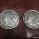 Monedas antiguas de América: 2 MONEDAS DE 1 DÓLAR AÑO 1921. Lote 156778926