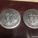 Monedas antiguas de América: 2 MONEDAS DE 10 PESOS MÉXICO 1960. Lote 156779218