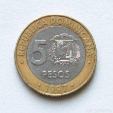 Monedas antiguas de América: REPUBLICA DOMINICANA: 5 PESOS KM#. Lote 156908526