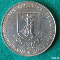 Monedas antiguas de América: MONEDA 4 DÓLARES - ISLA MONTSERRAT - 1970 - CUPRONÍQUEL - SC. Lote 157780482