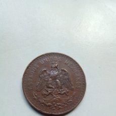 Monedas antiguas de América: ESTADOS UNIDOS MEXICANOS 5 CENTAVOS 1915. Lote 157938380