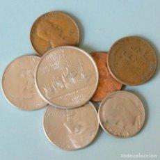 Monedas antiguas de América: LOTE 7 MONEDAS ESTADOS UNIDOS. Lote 158108038
