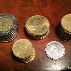 Monedas antiguas de América: 31 MONEDAS URUGUAY - 6 DE 10 PESOS - 7 DE 5 PESOS - 11 DE 2 PESOS - 7 DE 1 PESO - 1 DE 50 CENTIMOS. Lote 158499082