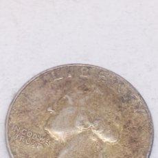 Monedas antiguas de América: MONEDA QUARTER DOLLAR 1964 PLATA. Lote 163659805