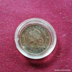 Monedas antiguas de América: ARGENTINA. CENTAVO DE 1890. Lote 159425134
