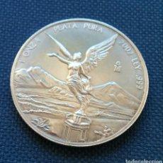 Monedas antiguas de América: 1 ONZA PLATA PURA 2002 MÉXICO. Lote 159462782